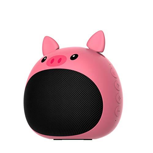 SOMESUN Tragbarer Bluetooth-Lautsprecher Kreativer Niedlicher Haustier-Bluetooth-Lautsprecher Subwoofer Stereo-Surround-Sound Niedlicher Tierischer Kleiner Lautsprecher