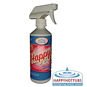 41fYh3L6WAL. SS300  - Happy Hot Tubs Instant Filter Cleaner Spray 500ml Hot Tub Pool Spa Tubs Spas