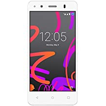 "BQ Aquaris M4.5 - Smartphone de 4.5"" (4G, WiFi, Bluetooth 4.0, NFC HCE, GPS, 2 GB de RAM, memoria interna de 16 GB, Android 5.1 Lollipop) blanco - (Reacondicionado Certificado por BQ)"