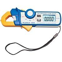 PeakTech P 1635corriente amperímetro/kriechstrom Alicate/diferencial Pinza amperimétrica/Pinza amperimétrica con 1mA Resolución 2400cuentas, 2A/80a ac dc con LED linterna y ncv-116