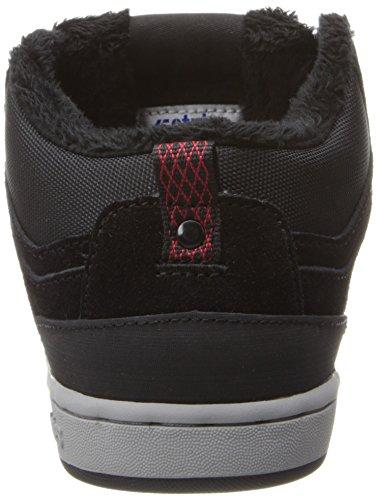 Etnies High Rise, Chaussures de skateboard garçon Noir (001/Black)