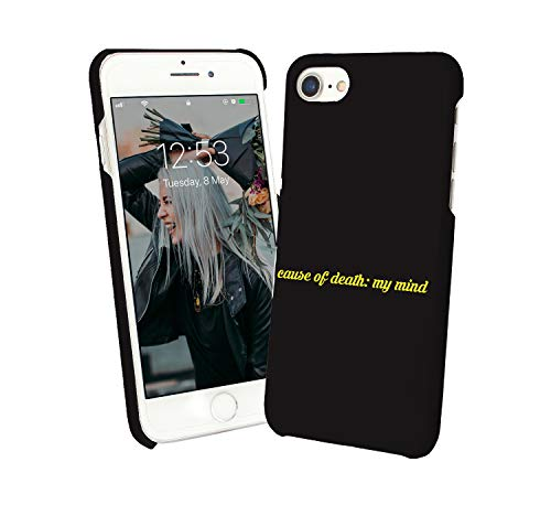 13700d17047 Mind Is Death Sarcastic Quote_012269 Protective Phone Mobile Smartphone  Case Cover Hard Plastic For Compatible with