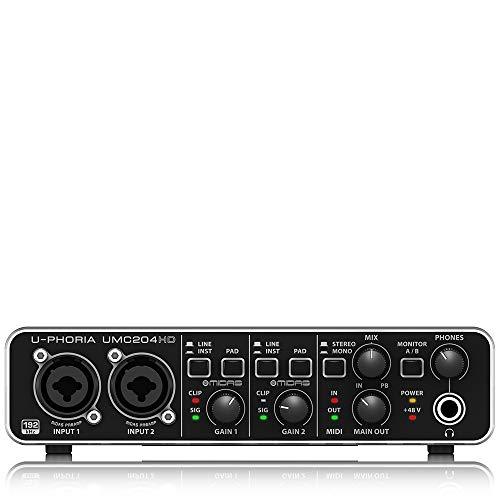 Imagen de Interface de Audio Usb Behringer por menos de 90 euros.