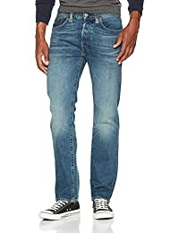 Jeans stretch homme rouge