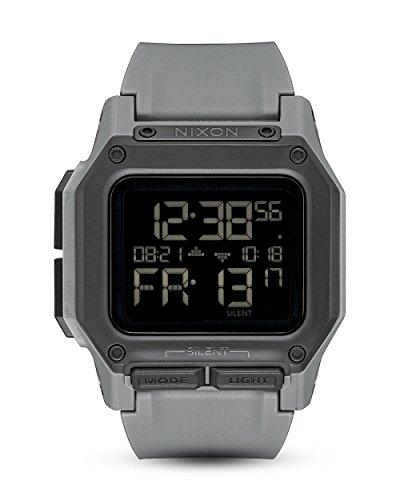 Nixon Unisex Erwachsene Digital Uhr mit Silikon Armband A1180-632-00