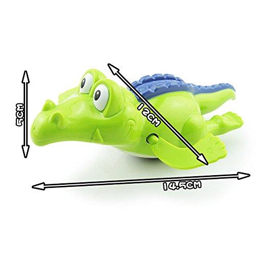 JIUZHOU Spielzeug-Shop für Babybadezimmer, Krokodil, aufziehbar, Lernspielzeug für Kinder