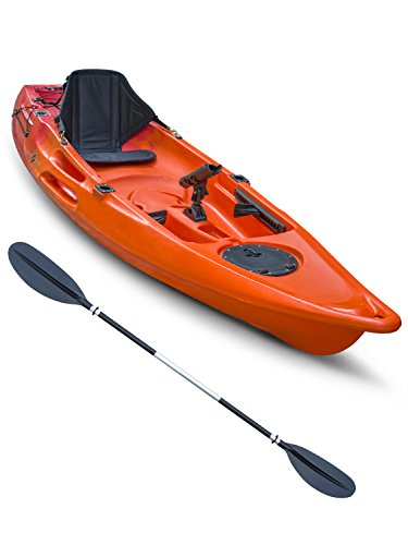 concept-glide-1-1-sit-on-top-kayak-deluxe-bundle-red-orange
