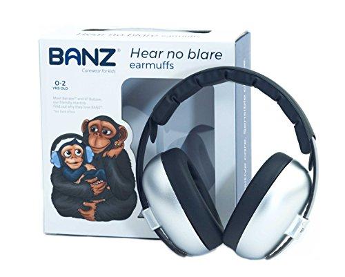 Banz Bubzee Baby-Ohrenschützer, silberfarben