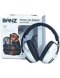 Banz BABY BUDSEE EARMUFFS, casques oreillères de protection acoustique pour enfants de 0 à 2 ans.