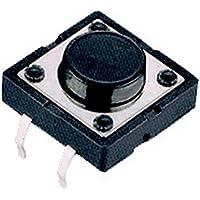 Generic-20 pezzi, 12 mm, interruttore a pulsante tattile, solo Cover,