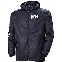 Helly Hansen Active Wind Jacket Cortavientos, Hombre, Navy, L