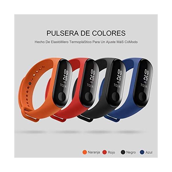 Madozon 13 Piezas Correas para Xiaomi Mi Band 3 /Mi Band 4 Pulsera Reloj Silicona Banda para Mijia Mi Band 4-13 Colores 6