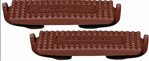 Amesbichler Steigbügeleinlagen Compositi Premium Steigbügel Adult/Erwachsene 12 cm, Farbe: braun