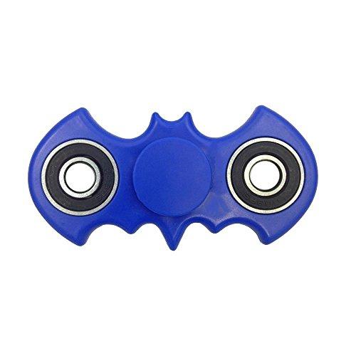 Preisvergleich Produktbild Fidget Toys Hand Spinner Finger Spielzeug für Kinder und Erwachsene Spielzeug Geschenke (Blauer Fledermaus)