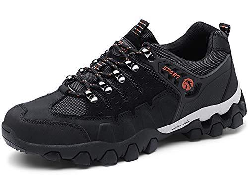 GJRRX Outdoor Scarpe da Escursionismo Impermeabili Basso-Top Sportive Scarpe Running Calzature Uomo 38-44