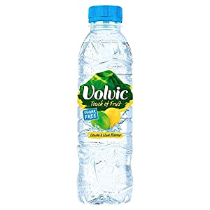 volvic touch of fruits sugar free lemon and lime flavoured water 12 bottles 500 ml pack of 2. Black Bedroom Furniture Sets. Home Design Ideas