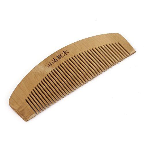 DealMux Haarpflege Natur hölzerne Kamm 14CM Länge Holz Farbe für Dame Girl