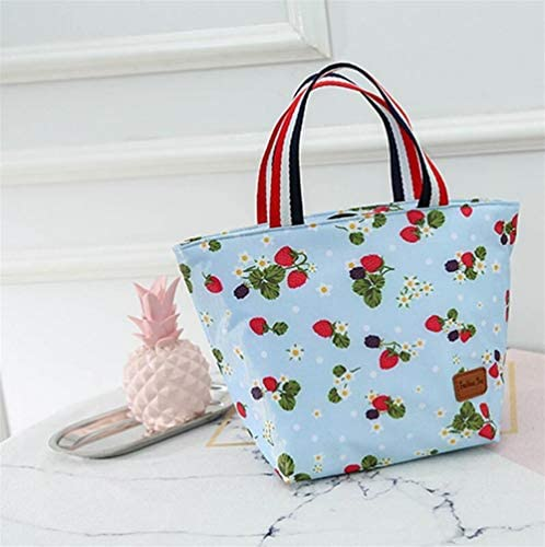 Mode mignon New Ladies Small Isolation Fashion Sac à lunch Box (fraise) B07L7N5PPN | Une Performance Fiable