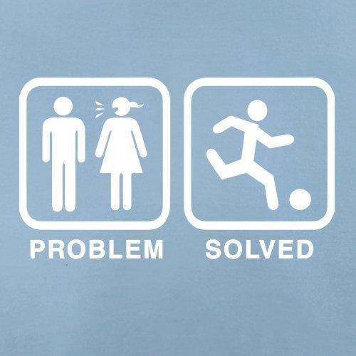 Problem gelöst - Fussball - Herren T-Shirt - 13 Farben Himmelblau