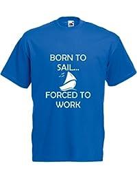 Born to Sail…, Hommes T-shirt Imprimé