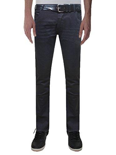 Crosshatch - Jeans - Droit - Homme Noir - Noir