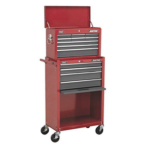 Sealey ap22513bb Werkzeugkiste und Werkzeugschrank 13-Drawer–Rot/Grau