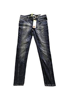 Adidas Neo Womens Denim Blue Skinny Jeans W28 L30