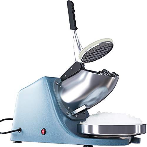 Ice Crusher, Heavy Duty, Edelstahl Ice Shaver, Schneekegelmaschine, Elektrische Rasierte Eismaschine (143 Lbs/Hr 200 W Ice Shaver) Kalte GeträNke, Obstdessert Und Cocktail