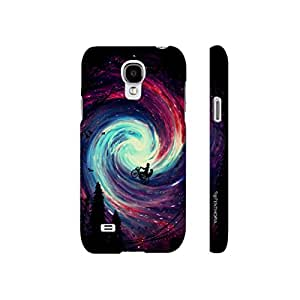 Samsung Galaxy S4 mini Riding in the Sky designer mobile hard shell case by Enthopia