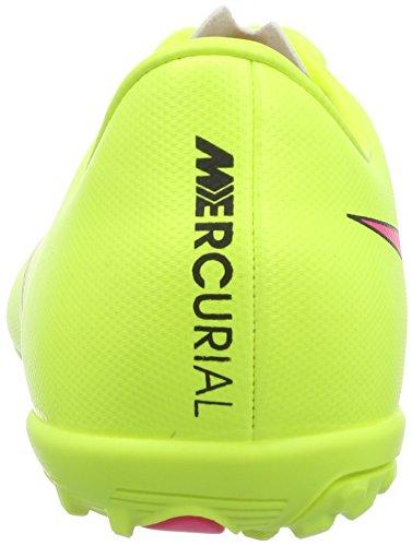 Nike Jr. Mercurial Victory V TF Unisex-Kinder Fußballschuhe Gelb (Volt/Hyper Pink-Black 760)