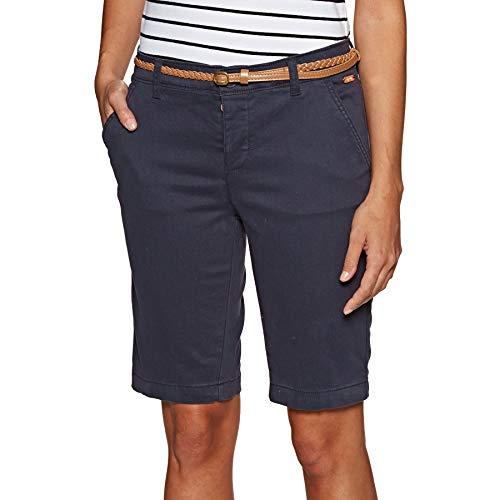 Superdry Chino Damen Chino City Short Pant Midnight Navy, Größe:L -