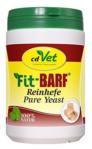 cdVet Naturprodukte Fit-BARF Reinhefe 680 g - Hund&Katze - Vitamin-B-Quelle - wertvolle Ergänzung zur täglichen Ernährung - Unterstützung der Darmflora - Vitamine - Rohfütterung - BARFEN -