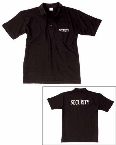 Mil-Tec Security Polo Schwarz Gr.L [Misc.] (Schwarzes Polo Security)