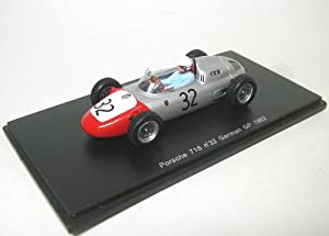 Spark Model S1864 Porsche 718 H.Walter 1962 N.32 14th German GP 1:43 Formula 1