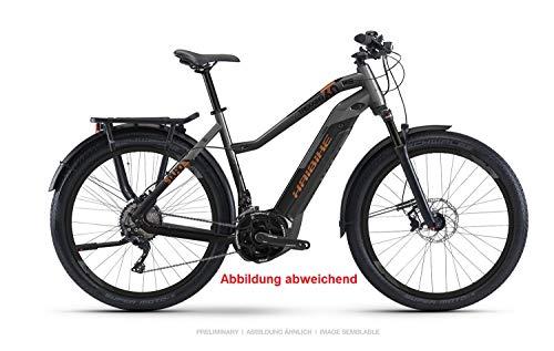 """Haibike Sduro Trekking 6.0 Yamaha 2019 - Bicicleta eléctrica, Color Schwarz/Titan/Bronze Damen, tamaño 28\"""" Damen Trapez M/48cm, tamaño de Rueda 28.00"""