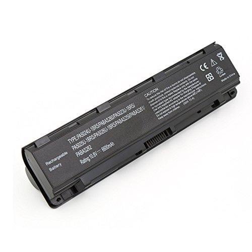BLESYS de 9 celdas 6600mAh TOSHIBA PA5023U-1BRS PA5024U-1BRS PA5025U-1BRS PA5026U-1BRS PABAS259 PABAS260 PABAS261 PABAS262 ordenador portátil del reemplazo de la batería encaja TOSHIBA Satellite C800 C800D C805 C805D C840 C850 C850D C855 C870 C875 L800 L830 L840 L850 L870 M800 P800 P875D R945 S800 S850D S855D Ordenador portátil