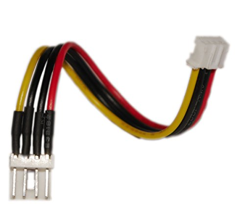 Preisvergleich Produktbild Digital Devices Stromverbindungskabel - Sherlock auf 3, 5 Molex (w / m) / Länge ca. 10cm / für die Stromversorgung vom PC-Netzteil zu Duoflex Erweiterungen