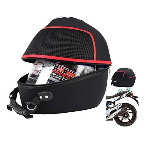 AIURBAG Motorrad Helm Tasche wasserdichte Ritter Rücksitz Tasche Motorrad Reise Motorrad Helm Tasche Multifunktions Motor Heck Tasche -