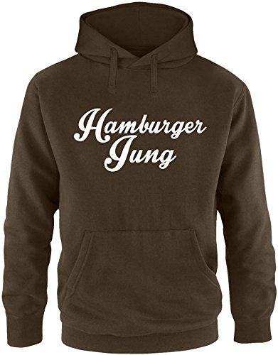 EZYshirt® Hamburger Jung Herren Hoodie