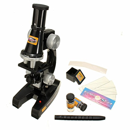 KINGDUO Scientific Eductional Experiment Microscope Set Optical Supplies Science Lab Toy