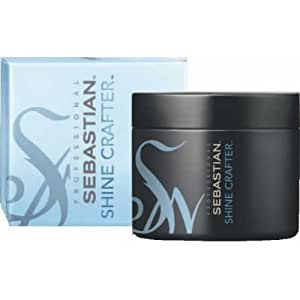 Sebastian Shine Crafter Moldable Shine Wax 1.7 oz / 50 g with rock crystal