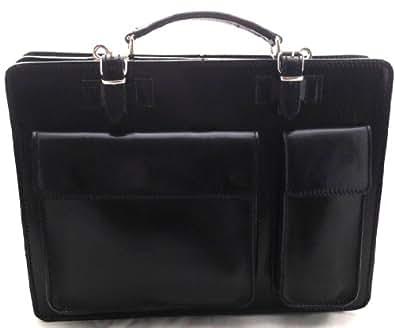Ctm borsa cartella a spalla nero porta documenti da uomo - Porta pistola da spalla ...