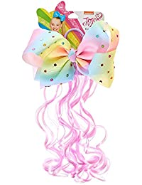2cca6ddb72c Claire s Girl s JoJo Siwa Pastel Rainbow Bow Faux Hair Tie