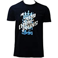 New Balance Ecb 2019 Champions tee Camiseta Unisex, Camiseta de Campeones del BCE 2019, Unisex Adulto, Color Azul Marino, tamaño Small