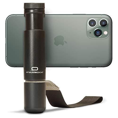 Shoulderpod S1 - Professionelle Smartphone-Vorrichtung, Stativ-Befestigung sowie Filmer-Handgriff für das Fotografieren und Filmen mit jedem iPhone und Android-Handy