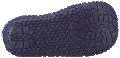Playshoes Aqua-Socke 174802, Scarpe da mare unisex bambino Blu (Blau (marine/hellblau 639))