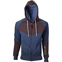 Import Europe - Sudadera Hoja Oculta Assassin's Creed Unity, Talla L, Color Azul/Marrón