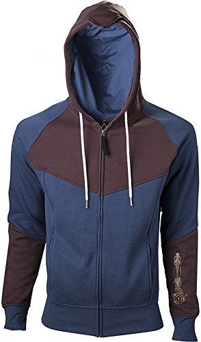 Assassin's Creed Unity Kapuzenjacke blau/braun Blau/Braun