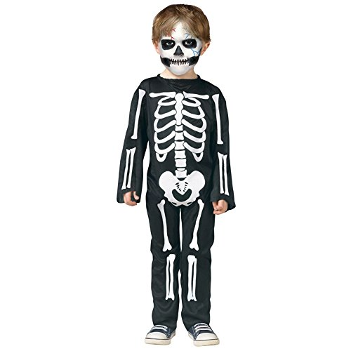 (Robo Kostüm Halloween Kinder Schädel Outfits Erwachsene Skelett Knoch Geist Cosplay Verkleidung)