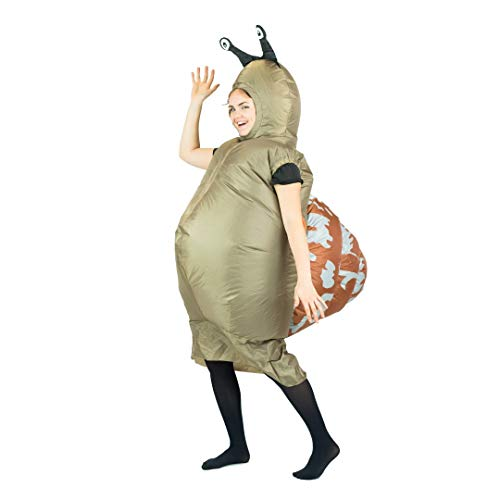 Bodysocks Fancy Dress Aufblasbares Schnecke Kostüm (Kostüm Halloween Schnecke)